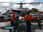 Ciclista é atropelado na Marginal Tietê e socorrido pelo helicóptero da PM