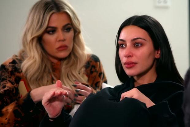 Khloé e Kim Kardashian (Foto: Reprodução)