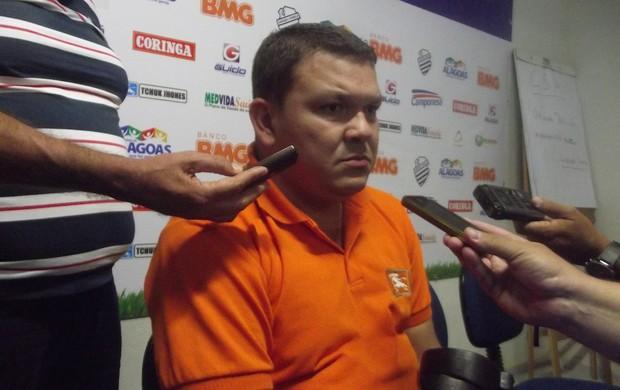 Cícero Eugenio, vice-presidente do CSA (Foto: Caio Lorena / Globoesporte.com)