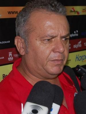 Dorgival Pereira, diretor de futebol do Campinense (Foto: João Brandão Neto / GloboEsporte.com/pb)