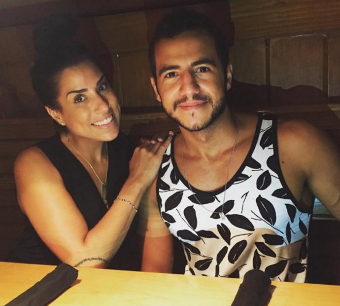 Matheus e Juliana instagram (Foto: Arquivo pessoal)