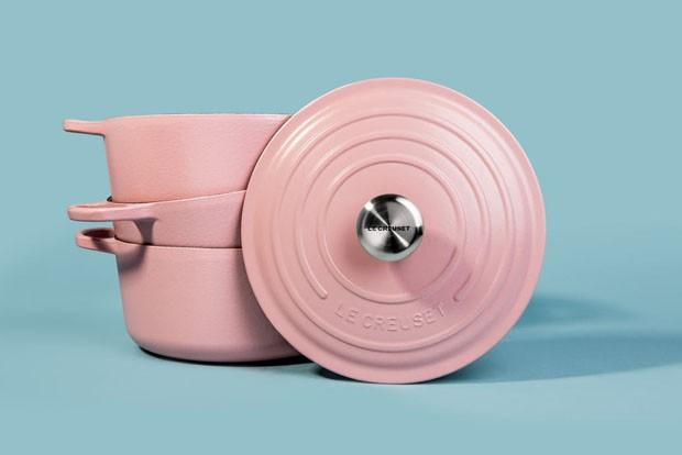 Le Creuset lança coleção na cor millenial pink (Foto: Divulgação)