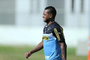 Jobson, Treino do Botafogo