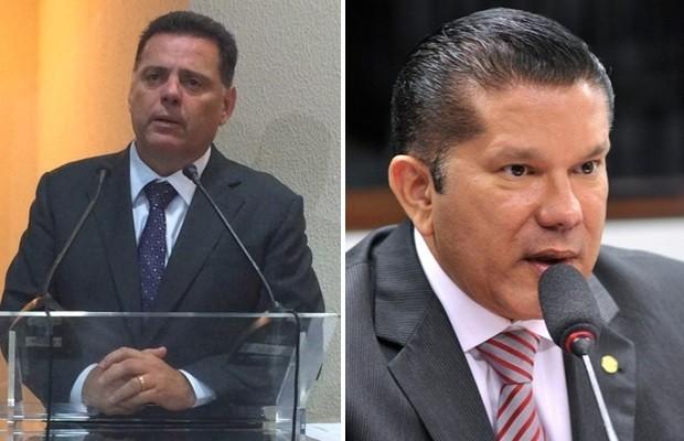 Marconi Perillo e Sandes Júnior foram condenados por improbidade em Goiânia, Goiás (Foto: Reprodução)