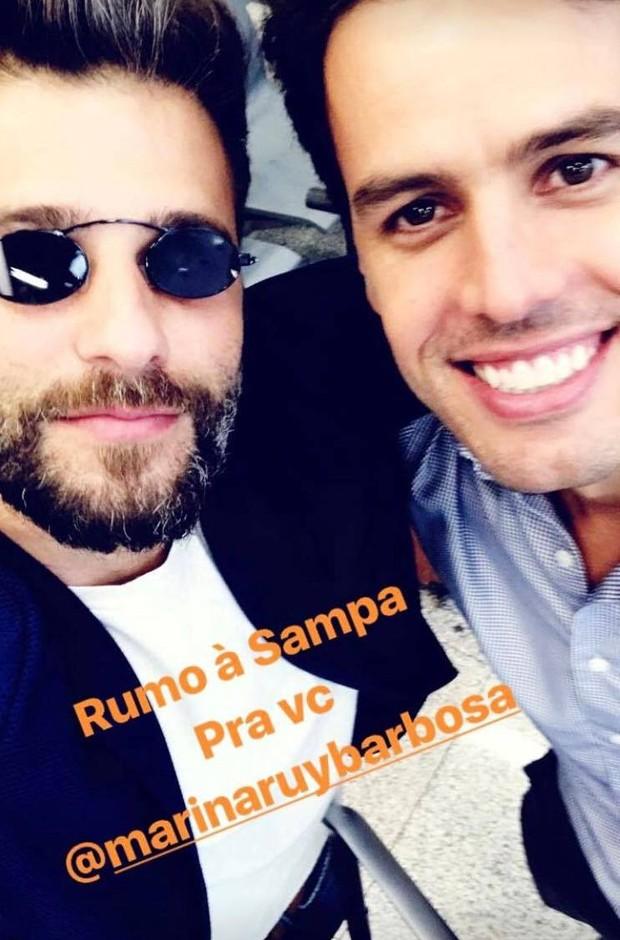 Bruno Gagliasso e Xande Negrão (Foto: Reprodução/Instagram)