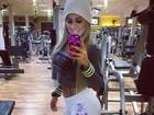 Ex-BBB Vanessa manda recado: 'Eu treino pra mim e não para você'