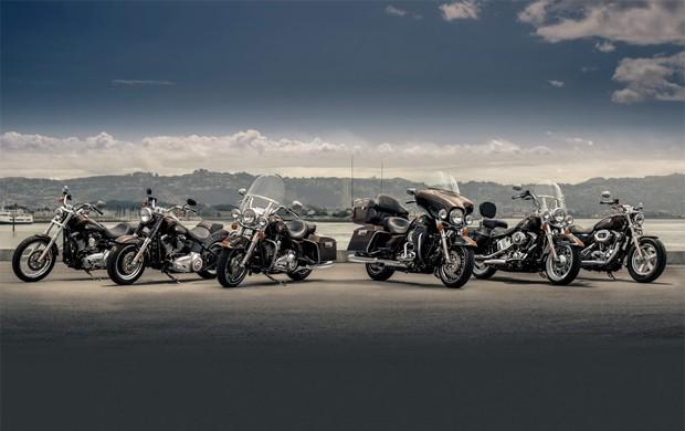 Modelo 2013 especial de aniversário da Harley-Davidson (Foto: Divulgação)