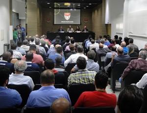 Conselho técnico Segundona (Foto: Eduardo Nunes / FPF, Divulgação)