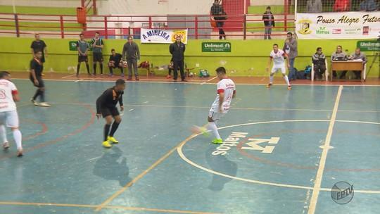 Veja como foram as semifinais da Taça EPTV de Futsal Sul de Minas