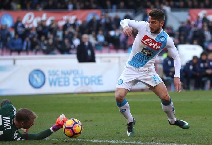 Mertens Hart Napoli Torino (Foto: AP)