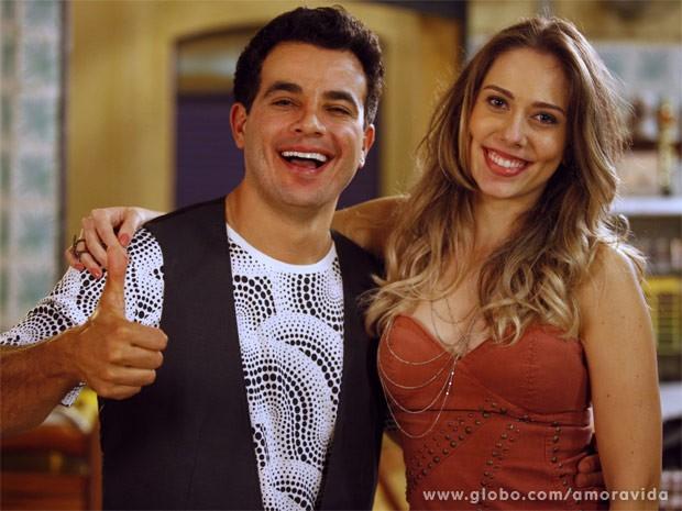 Anderson Di Rizzi e Carol Rainato (Foto: Amor à Vida / TV Globo)