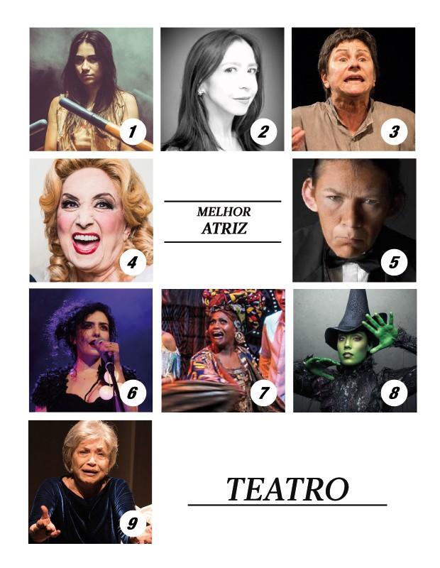 Melhor atriz de teatro (Foto: .)