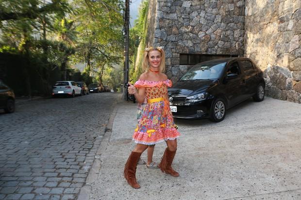 Carolina Dieckmann no Arraiá do Huck (Foto: Dilson Silva/ Ag. News)