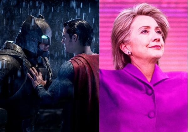 Batman Vs Superman e o documentário sobre Hillary Clinton (Foto: Reprodução)