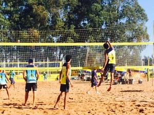 Dayan Barros e Sávio Felipe, dupla de vôlei de praia do Acre (Foto: Carlos Leopoldo/Arquivo pessoal)