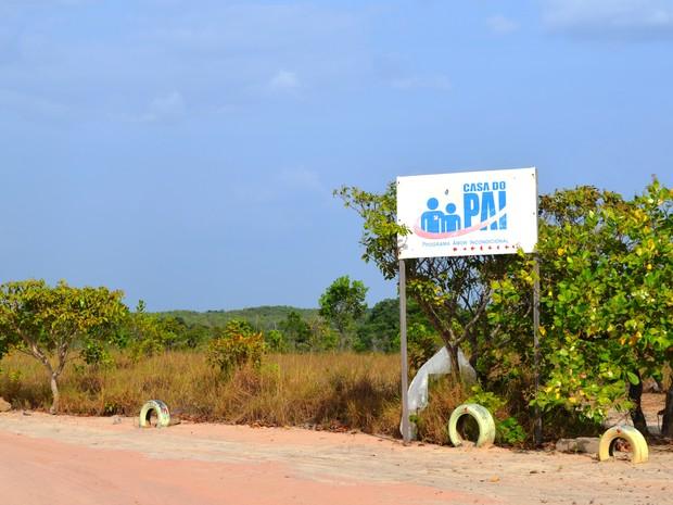 Fazenda é propriedade da igreja da Paz (Foto: Natacha Portal/ G1)