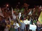 Manifestantes fazem ato contra Lula na frente do MPF em Campo Grande
