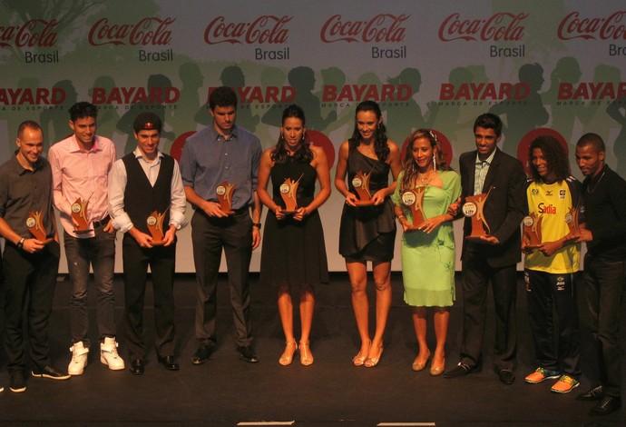 Todos os premiados da noite Prêmio Sport Life (Foto: Alessandra Colturato)