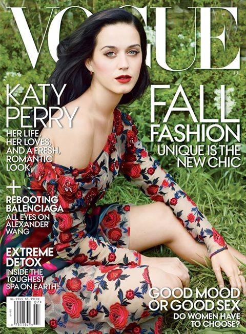 Katy Perry na Vogue  (Foto: Reprodução / Revista Vogue)