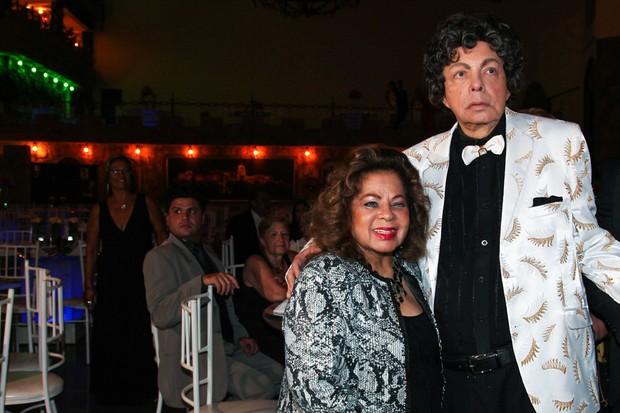 Angela Maria e Cauby Peixoto (Foto: Manuela Scarpa e Marcos Ribas/Brazil News)