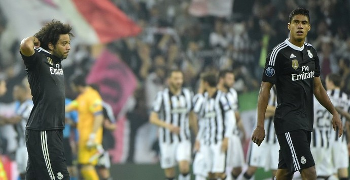 Marcelo - Juventus x Real Madrid (Foto: AFP)
