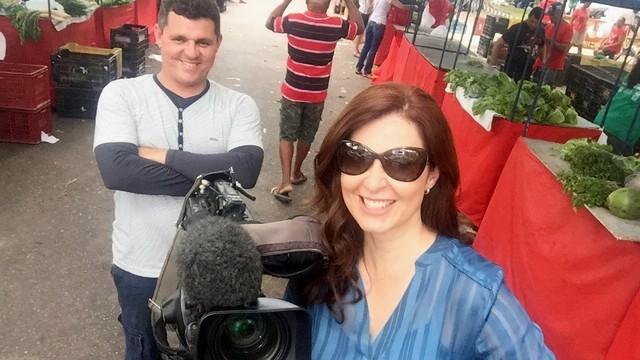 Reportagem de Kíria Meurer contou com participação de profissionais de outros estados (Foto: RBS TV/Divulgação)