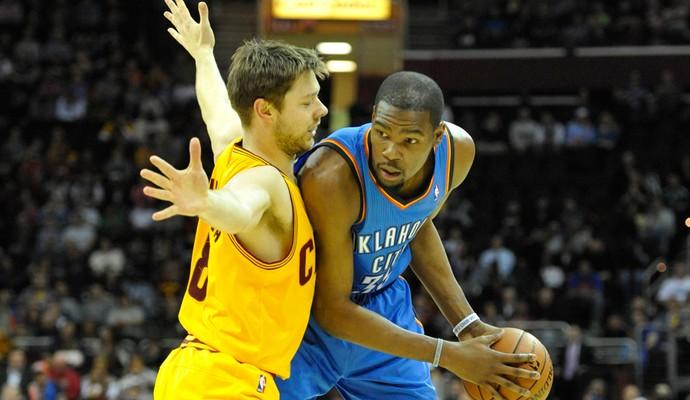 Basquete NBA - Kevin Durant - Cleveland Cavalierst x Oklahoma City Thunder (Foto: Reuters)