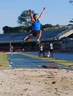 Caio Cézar, campeão olímpico da juventude, volta às competições após grave lesão (Foto: Marcos Guerra)