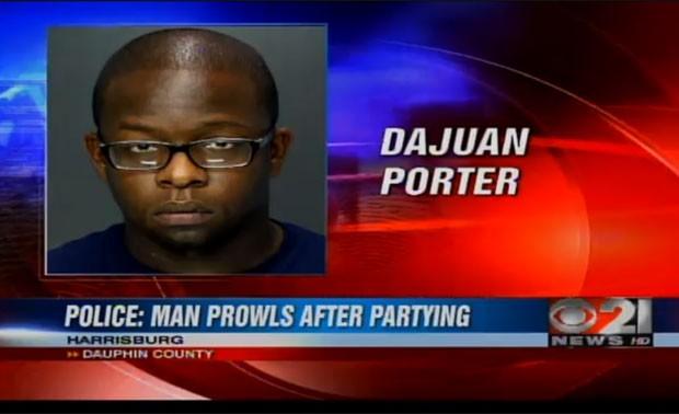 Dajuan Porter foi acusado de fazer sexo oral em homens enquanto eles dormiam. (Foto: Reprodução)