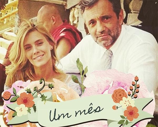 Carolina Dieckmann e Domingos Montagner (Foto: Reprodução/Instagram)