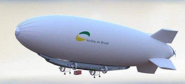 Airship - dirigível  (Foto: Divulgação Airship)