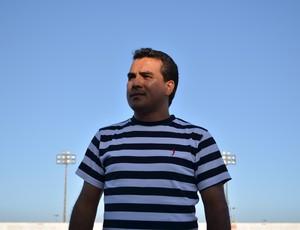 Edvaldo Lima, presidente do Itabaiana (Foto: João Áquila, GLOBOESPORTE.COM)