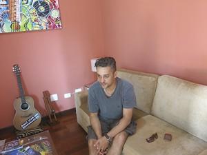 Fábio, um dos irmãos de Chorão, conta que o músico adorava ajudar animais (Foto: Guilherme Lucio / G1)