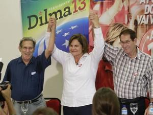 Almir Gabriel apoiou Ana Julia (PT). (Foto: Carlos Borges/ O Liberal)