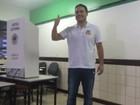 Renan Filho (PMDB) votou durante a manhã (Paula Nunes/G1)