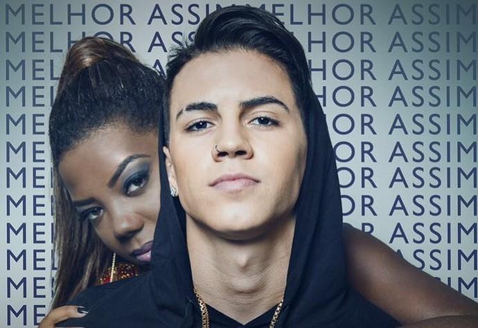 Biel e Ludmilla fortalecem a amizade com dueto no disco do rapaz (Foto: Divulgação)