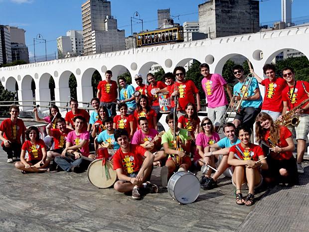 Integrantes do Bloco do Sargento Pimenta, que se apresenta no próximo sábado (21) em Brasília (Foto: Divulgação)