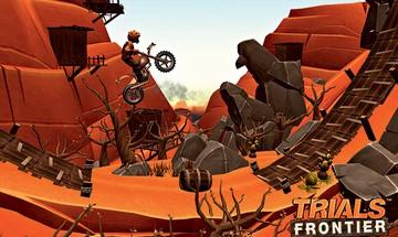 Tela do game Trials Frontier (Foto: Reprodução)