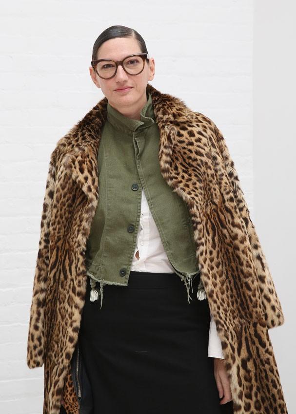 Jenna Lyons, ícone fashion, termina seu contrato em dezembro desse ano  (Foto: Robin Marchant/Getty Images )