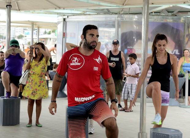 Evento Chico Salgado quiosque da Globo (Foto: Roberto Teixeira / Ego)