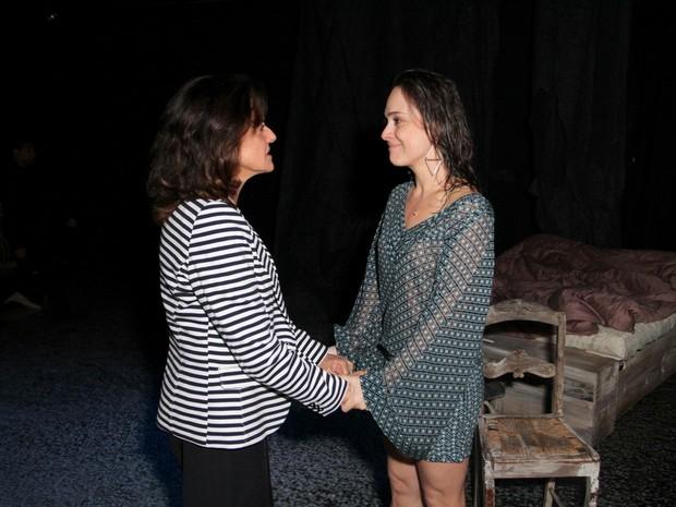 Marieta Severo e Gabriela Duarte em peça na Zona Sul do Rio (Foto: Anderson Borde/ Ag. News)