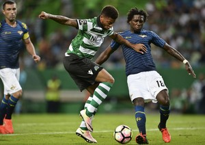 André Sporting x Moreirense (Foto: AFP)