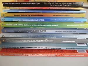 Lançamento de livros dá início às publicações da Editora Universitária (Foto: Kleber Soares/Unifap)