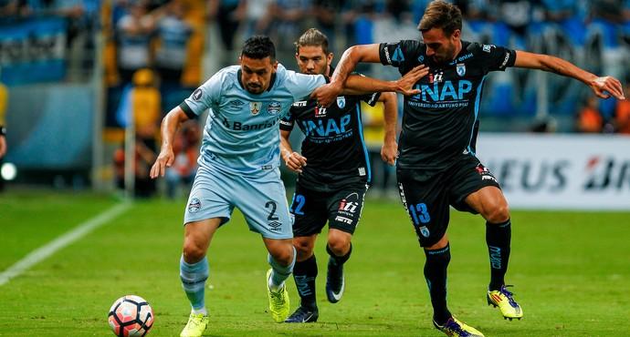 Grêmio x Iquique na Arena (Foto: Lucas Uebel / Grêmio, DVG)