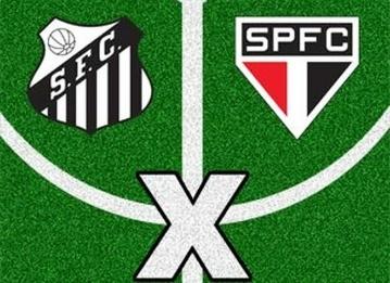 Santos x São Paulo  (Foto: Arte/ TV Liberal)