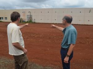 Andrés Yunes (à esq) e Pedro de Campos Lima foram idealizadores do centro de pesquisa (Foto: Marcello Carvalho/G1)