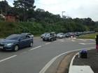 Trânsito é complicado na volta do litoral pela Mogi-Bertioga