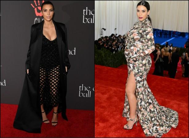 """Falando em Kardashians, Kim sofreu bullying por causa de seu peso quando estava... Grávida. Diante de tamanho absurdo, ela desabafou a um site sobre entretenimento: """"Não é bacana e não é justo"""". (Foto: Getty Images)"""