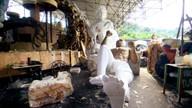 Império da Tijuca reaproveita obras de carnavais passados