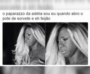 Adélia garante que acha graça de alguns memes  (Foto: TV Globo)